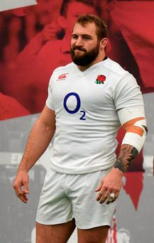 "England prop Joe Marler has been banned for two games after his ""gypsy boy"" slur. Photo: Andrew Matthews/PA"