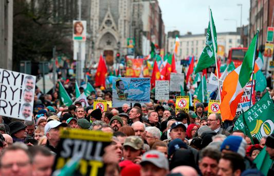 'So why is Fianna Fáil adopting this stance, particularly as it not only proposed the charge in 2009, but also signed up to the EU/IMF deal which made the introduction a condition of the bailout? It's mostly opportunistic and an attempt to tap into the public mood' Photo: Niall Carson/PA Wire