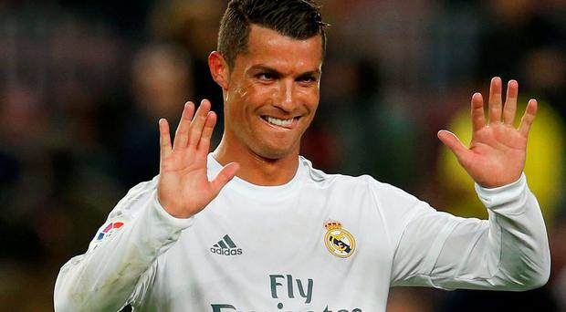 Cristiano Ronaldo is only four goals short of matching his own single-season record of 17 in the Champions League. Photo: Reuters / Albert Gea