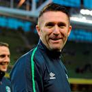 Keane was forced to sit out Ireland's recent pair of friendlies against Switzerland and Slovakia with knee trouble which required the Ireland captain to undergo surgery last week. Picture credit: Seb Daly / SPORTSFILE