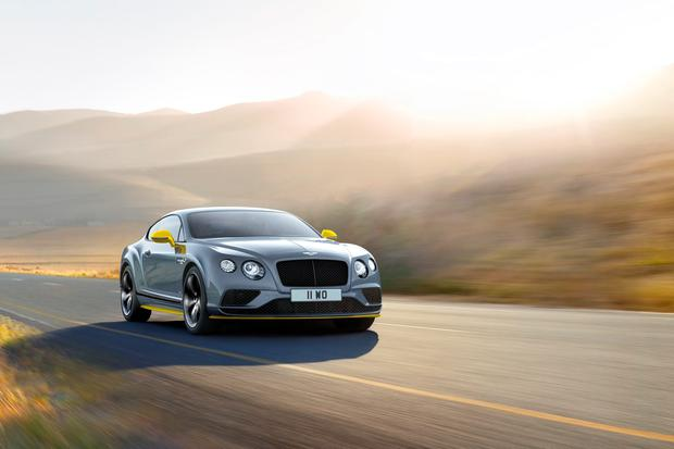 Bentley has unveiled its revised Continental GT Speed