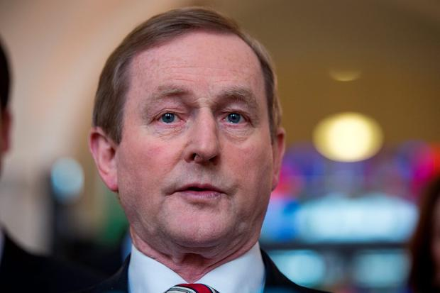 Enda Kenny. Photo: Arthur Carron