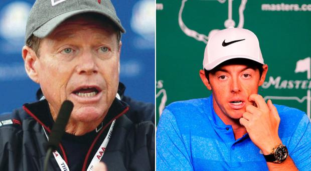 Tom Watson is tipping Rory McIlroy for success this week
