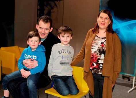 Doctor in the House on TV3 - Episode 3 - Masons Debbie Mason (29) and her partner Peter (30) who live in Prosperous, Co. Kildare with their two children Ryan (8) and Luke (5).