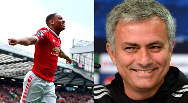 Anthony Martial has spoken about the Jose Mourinho to Manchester United rumours