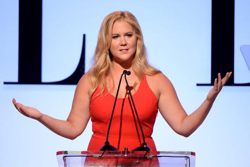 Honoree Amy Schumer speaks onstage during the 22nd Annual ELLE Women in Hollywood Awards presented by Calvin Klein Collection, LÄôOrv©al Paris, and David Yurman at the Four Seasons Los Angeles at Beverly Hills on October 19, 2015 in Beverly Hills, California. (Photo by Michael Kovac/Getty Images)