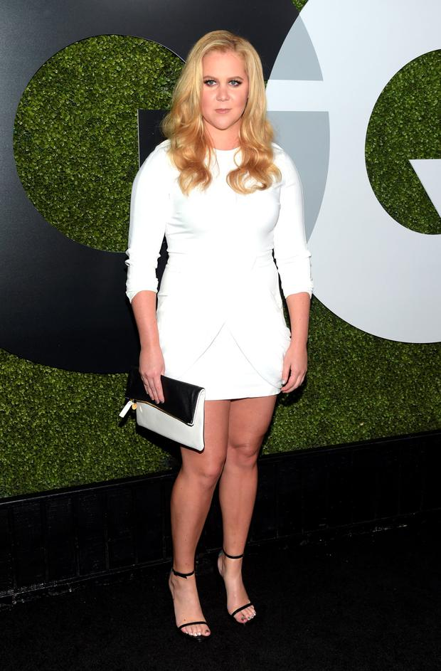 Comedian Amy Schumer attends the GQ 20th Anniversary Men Of The Year Party at Chateau Marmont on December 3, 2015 in Los Angeles, California. (Photo by Jason Kempin/Getty Images)