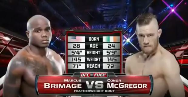 Conor McGregor made his UFC debut three years ago today