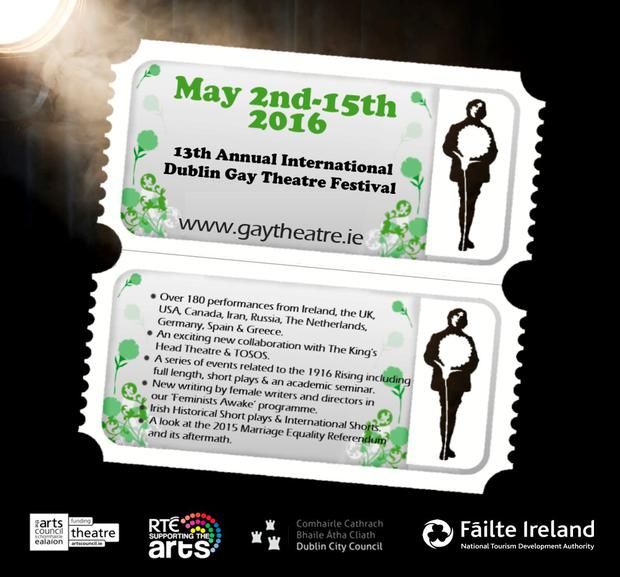 International Dublin Gay Theatre Festival programme launched