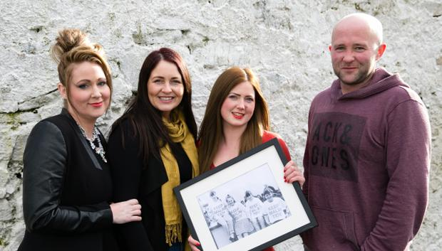 TidyTowns Malin winners 2Malin Head Residents Laura McLoughlin, Madeleine Lafferty, Jackie McKinley, Daniel Henderson