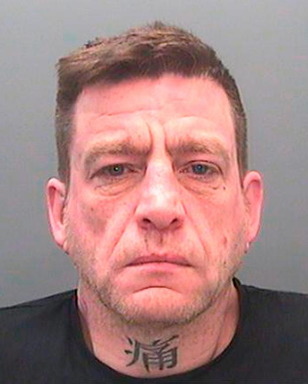 Paul Ford, 44, who has been jailed along with two others after being caught throwing drugs into HMP Parc prison near Bridgend Credit: South Wales Police/PA Wire