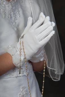 Some First Communions have evolved into lavish affairs Stock photo: Getty Images / iStockphoto