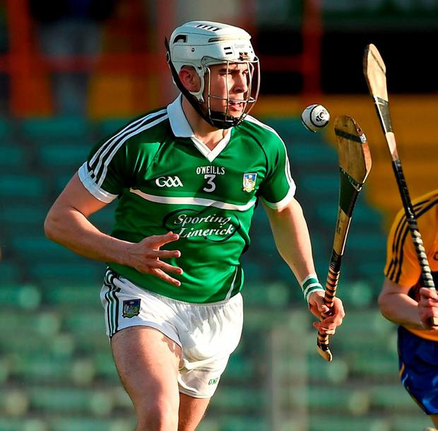 Limerick's William O'Meara. Photo: Diarmuid Greene / Sportsfile