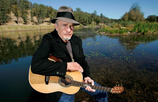 Merle Haggard poses at his ranch at Palo Cedro, Calif. (AP Photo/Rich Pedroncelli, FIle)