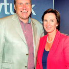 Ivan Yates with his wife Deirdre