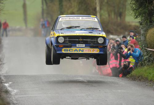 In the year when a new book commemorates the achievements of Bertie Fisher, his nephew Alastair is being talked of as one of three Irish drivers who could keep the Circuit of Ireland rally crown at home (Stock picture)