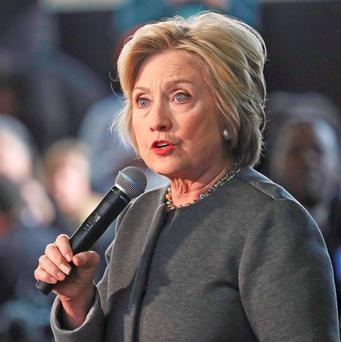 Democratic presidential candidate Hillary Clinton was defeated in Wisconsin by Bernie Sanders Photo: REUTERS/Carlo Allegri