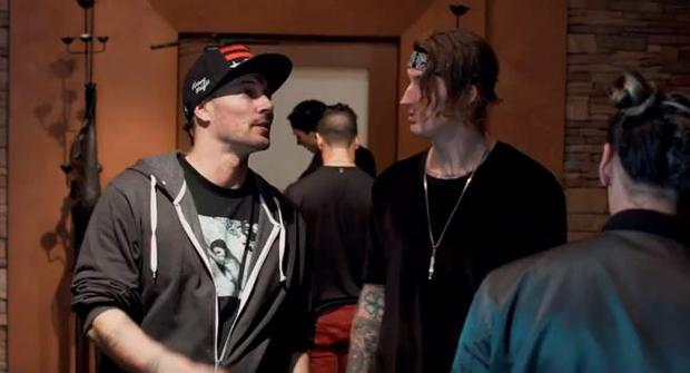Kevin Federline in new video for Hollywood