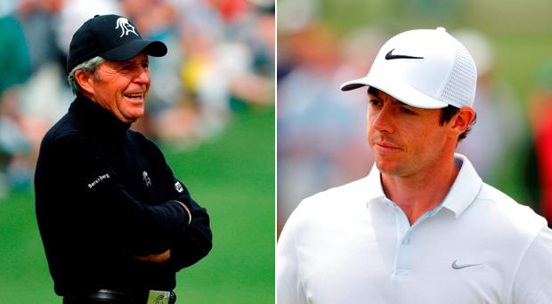 Gary Player claims he sparked Rory McIlroy keen interest in fitness