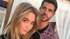 Nicola Hughes and ex-boyfriend Alex Mytton