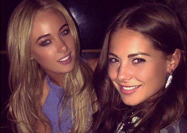 Nicola Hughes and Louise Thompson