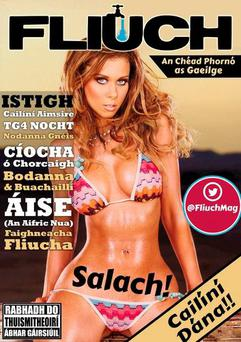 The first edition of Fliuch magazine. PIC: Fliuch