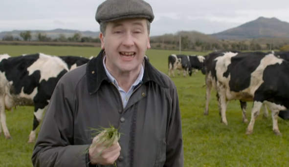 Philip Boucher-Hayes uncovers some surprising facts about dairy on RTE's 'What Are You Eating?' Photo: RTE