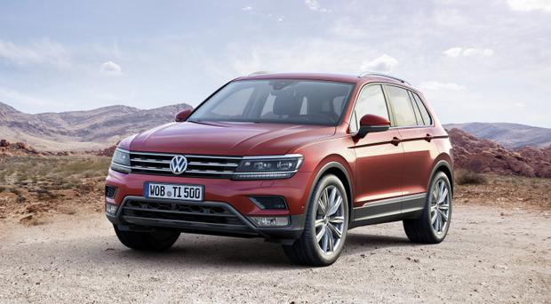 The new Volkswagen Tiguan