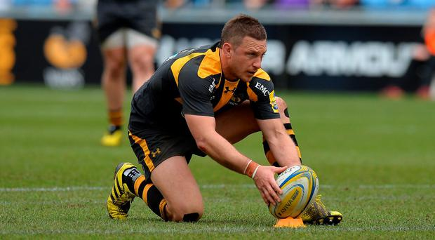 Former Leinster fly-half Jimmy Gopperth (pictured) is full of praise for Wasps owner Derek Richardson, a native of Dublin Photo: Getty