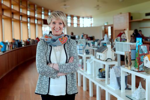 The 1916 Sackville Art Project organiser Ciara O'Keeffe. Picture: Caroline Quinn
