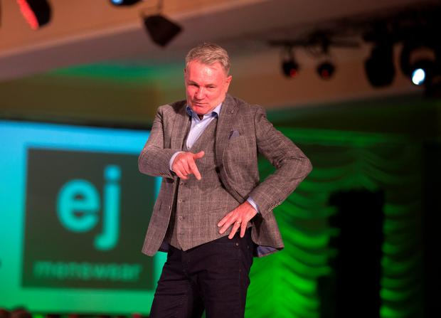 Ray Houghton at the Freedom of Dublin Charity Fashion Show in Citywest Hotel in Dublin. Picture: Arthur Carron