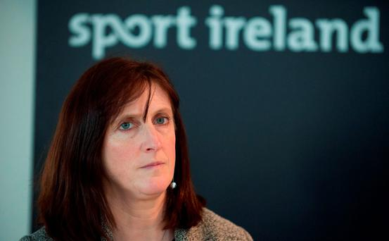 Dr. Úna May, Director of Participation and Ethics, Sport Ireland (SPORTSFILE )