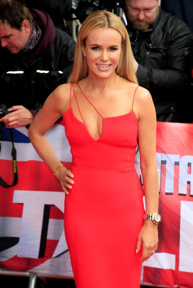 Amanda Holden attending the Britain's Got Talent Launch held at Regents Street Cinema in London. PRESS ASSOCIATION Photo. Picture date: Thursday April 7, 2016. See PA story SHOWBIZ Talent. Photo credit should read: Jonathan Brady/PA Wire