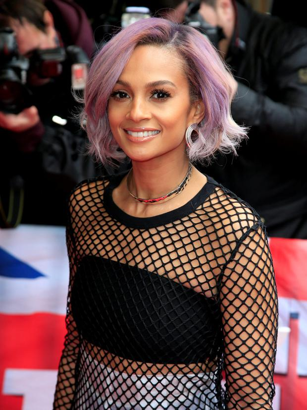 Alesha Dixon Debuts A Dramatic New Hair Colour And Its Giving Us