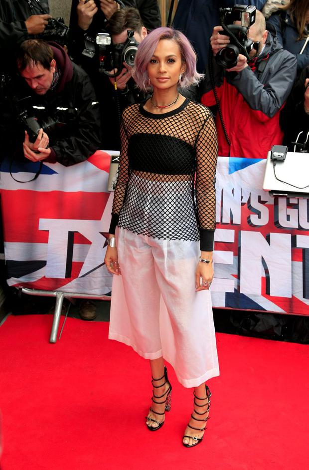 Alesha Dixon attending the Britain's Got Talent Launch held at Regents Street Cinema in London. PRESS ASSOCIATION Photo. Picture date: Thursday April 7, 2016. See PA story SHOWBIZ Talent. Photo credit should read: Jonathan Brady/PA Wire