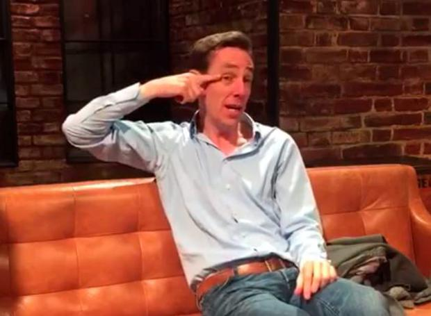 Ryan Tubridy talks about a narrow miss at a Dublin restaurant