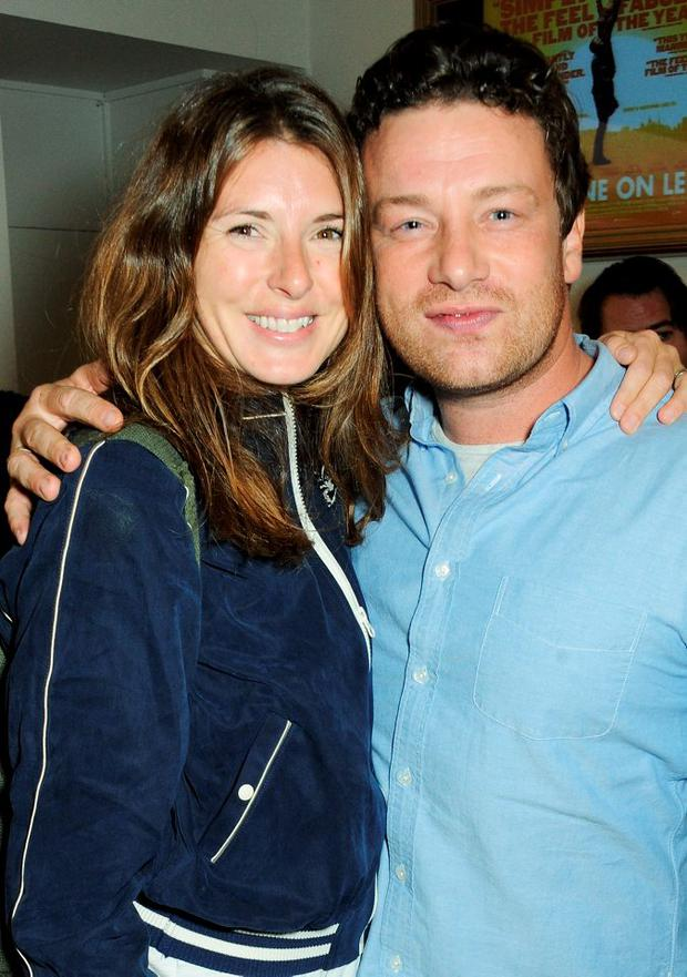 Snip-phobic Jamie Oliver and wife Jools