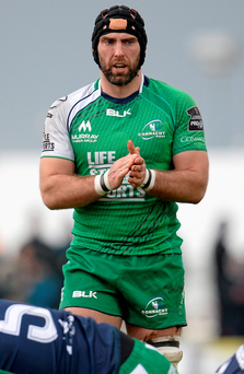 John Muldoon of Connacht. Photo: Seb Daly/Sportsfile