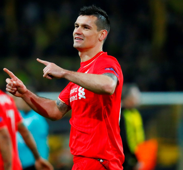 Dejan Lovren. Photo: Kai Pfaffenbach/Reuters