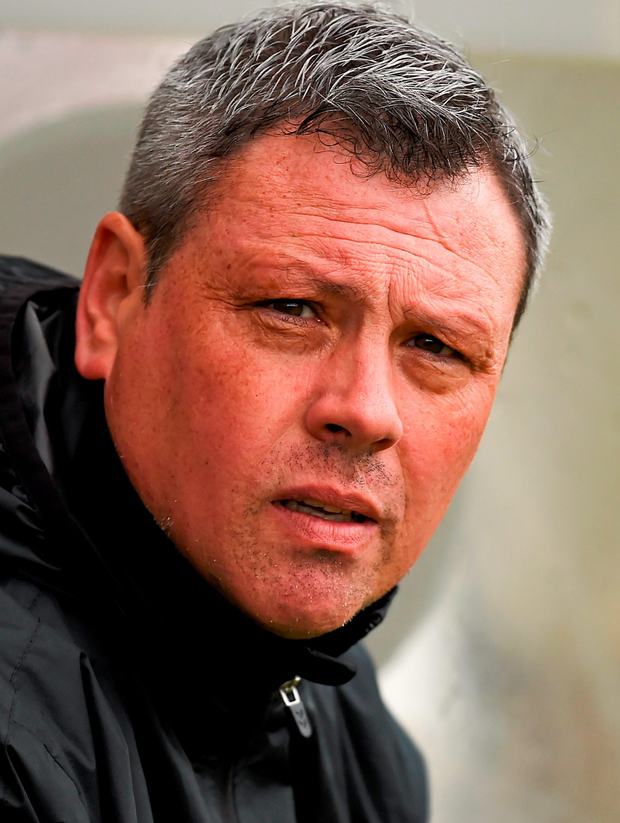 Bohs boss Keith Long. Photo: Stephen McCarthy/Sportsfile
