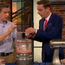 Philip Boucher Hayes pictured with Ryan Tubridy on The Late Late Show