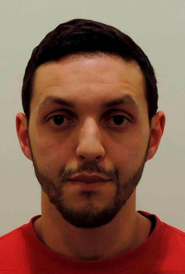 Mohamed Abrini is pictured in this undated handout image. REUTERS/Interpol/Handout via Reuters