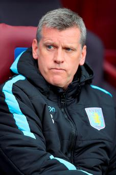 Eric Black the caretaker manager of Aston Villa. Photo: Getty