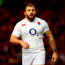 "England's Joe Marler, who has been suspended for two matches and fined £20,000 - to be paid to charity - following a misconduct hearing over his ""gypsy boy"" slur against Wales forward Samson Lee, World Rugby has announced. Photo: David Davies/PA Wire."