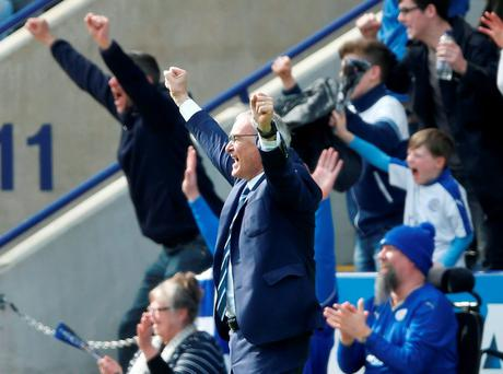 Claudio Ranieri wil lead Leicester in the Champions League next season