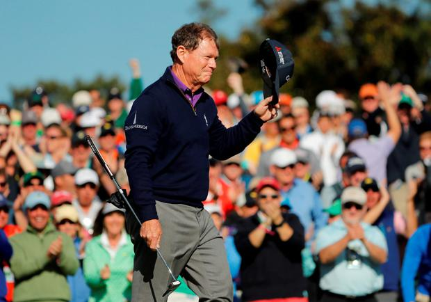 'I had dreams that maybe someday I could play in the Masters. And lo and behold — 43 times' Photo: USA Today Sports