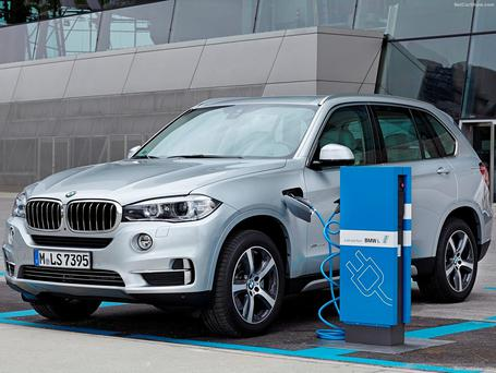 Wired up: BMW has embraced hybrid technology, launching the X5 xDrive40e, a 3-Series version called the 330e and an all-wheel drive 2-Series Active Tourer 225xe — now plans are in the pipeline for a luxury limo in the guise of the mighty 7-Series later in the yearits