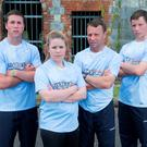 TV FAME: From left, Richard, Jessica, Peter and Luke Kingston on 'Ireland's Fittest Family' where they scooped €15,000. Photo: Gerard McCarthy
