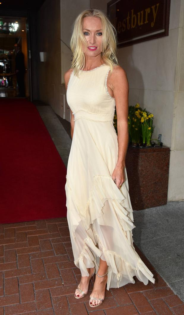 Victoria Smurfit at IFTA Awards 2016 at The Westbury Hotel & Mansion House, Dublin, Ireland
