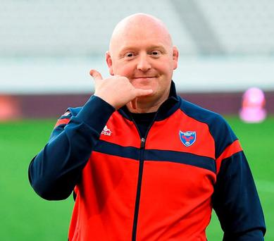 Delighted: Bernard Jackman. Photo: Stephen McCarthy / Sportsfile